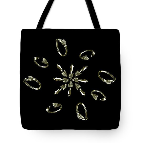 Arrow Circle For Julie Tote Bag
