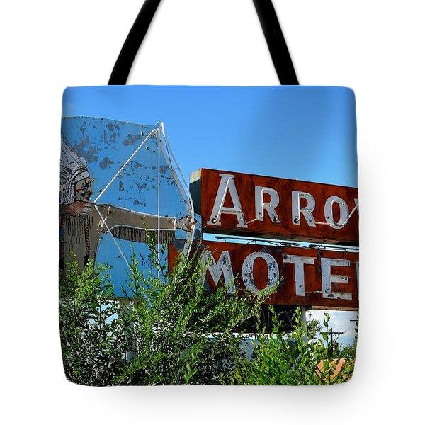 Arrow Motel Tote Bag