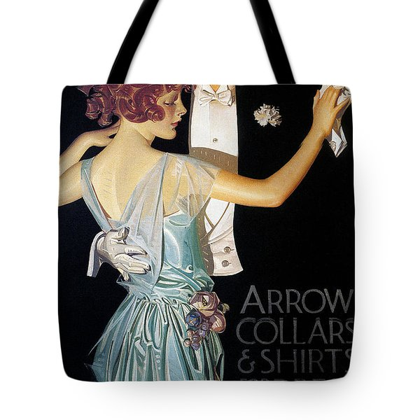 Arrow Shirt Collar Ad, 1923 Tote Bag