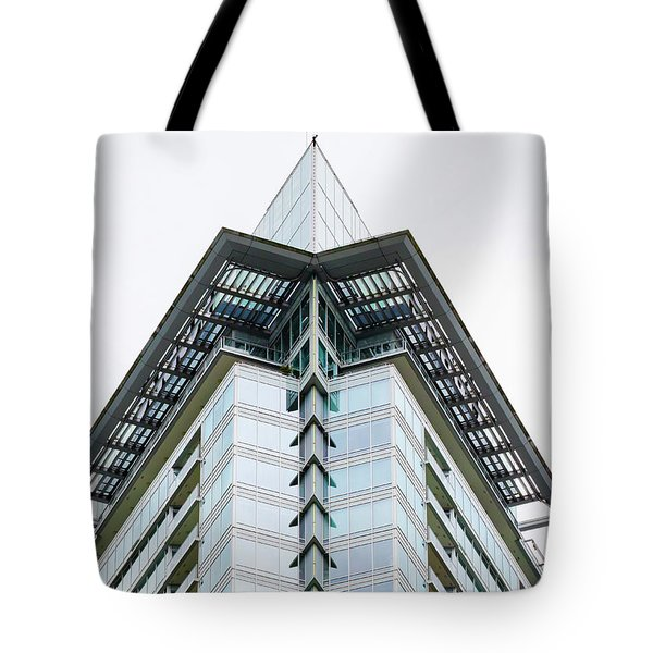 Tote Bag featuring the photograph Arrowhead Architecture by Chris Dutton