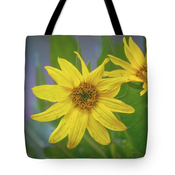 Tote Bag featuring the photograph Arrowleaf Balsamroot by Jason Coward