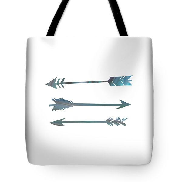 Arrows Tote Bag by Priscilla Wolfe