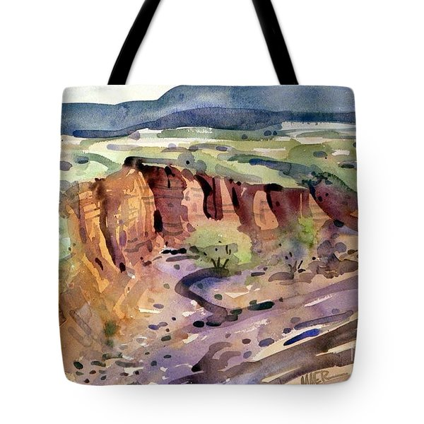 Arroyo Tote Bag by Donald Maier