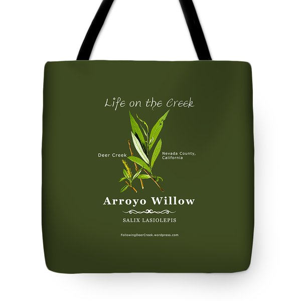 Arroyo Willow - Color Tote Bag