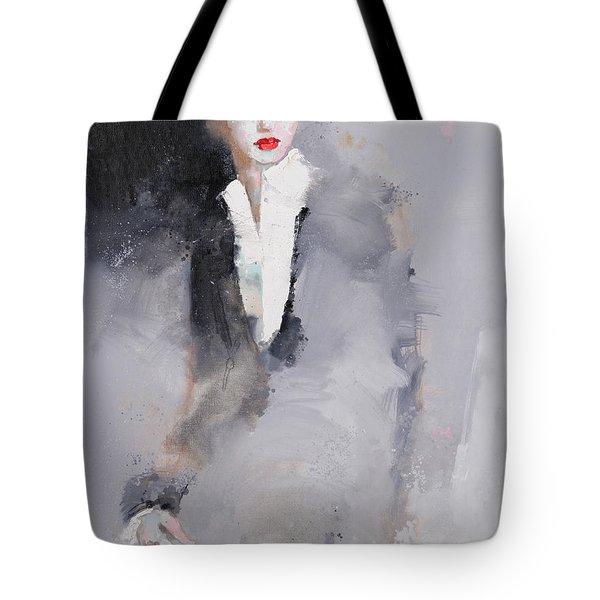 Photographed Tote Bag
