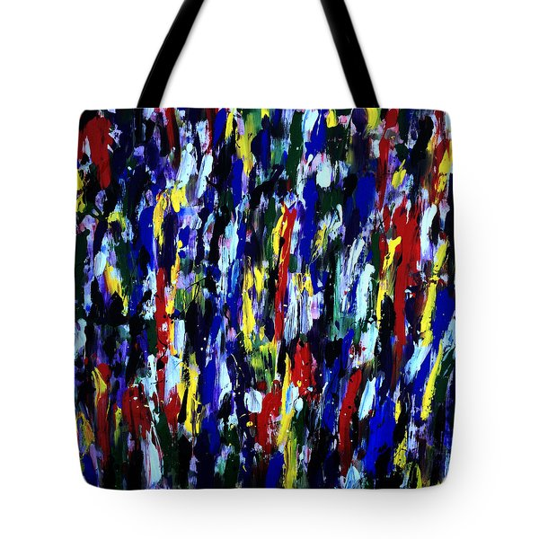 Art Abstract Painting Modern Color Tote Bag