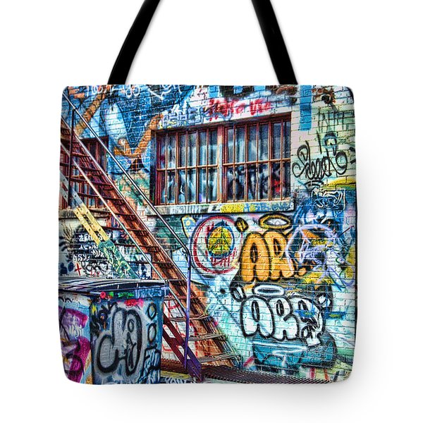 Art Alley 2 Tote Bag