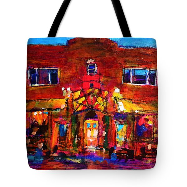 Art Bar Tote Bag