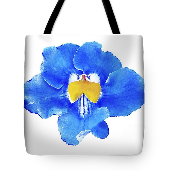 Art Blue Beauty Tote Bag