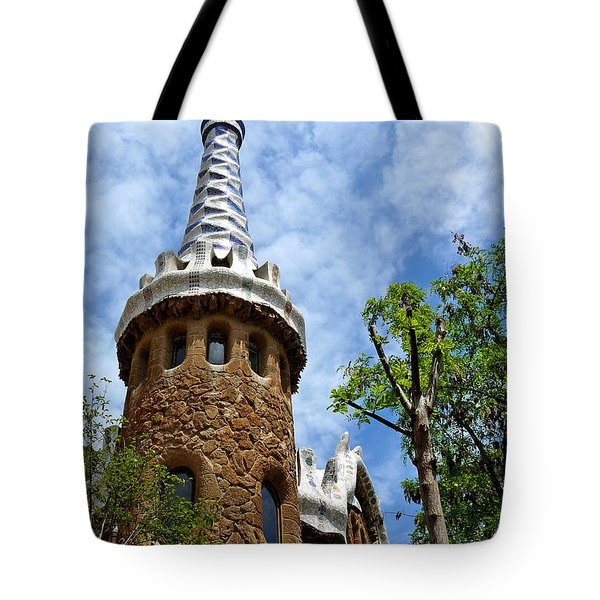 Art Building Tote Bag
