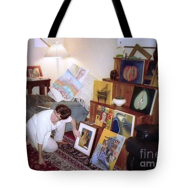 Art Class Group Critiq Tote Bag