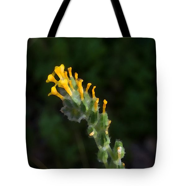 Tote Bag featuring the photograph Art Dabs Of Desert Life by Carolina Liechtenstein
