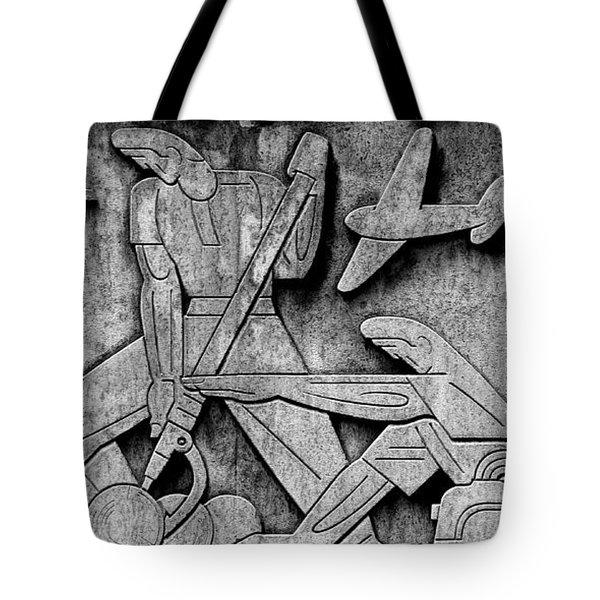 Art Deco 7 Tote Bag by Andrew Fare