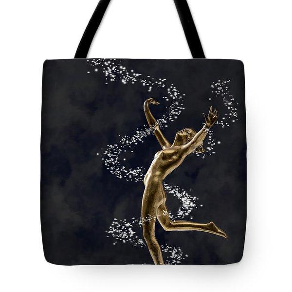 Art Deco Dancer Tote Bag