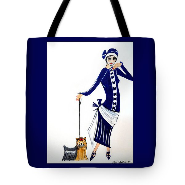 Art Deco  Diane 1920's Tote Bag