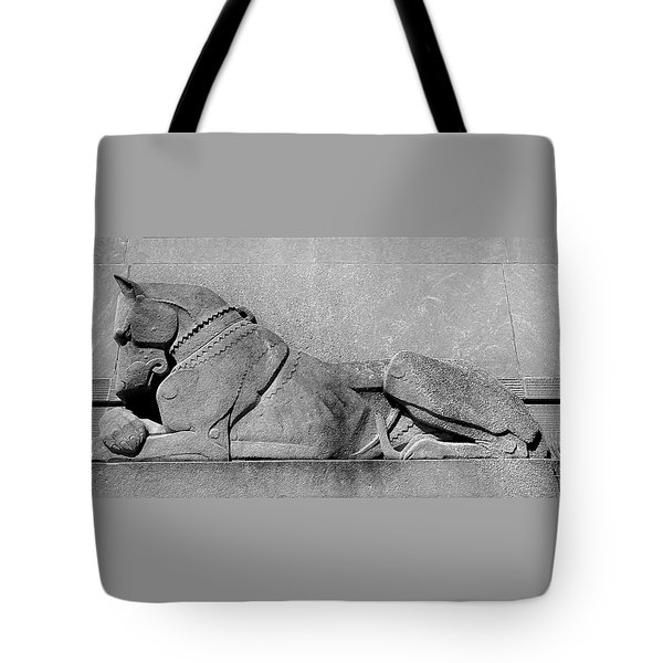 Art Deco Great Dane Tote Bag