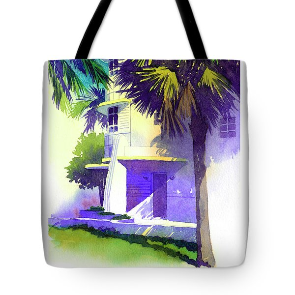 Art Deco Hotel Miami Tote Bag
