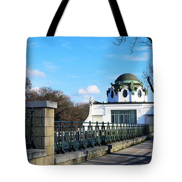 Art Deco Pavillon Tote Bag