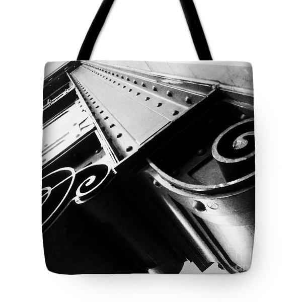 Art Deco Steel Tote Bag