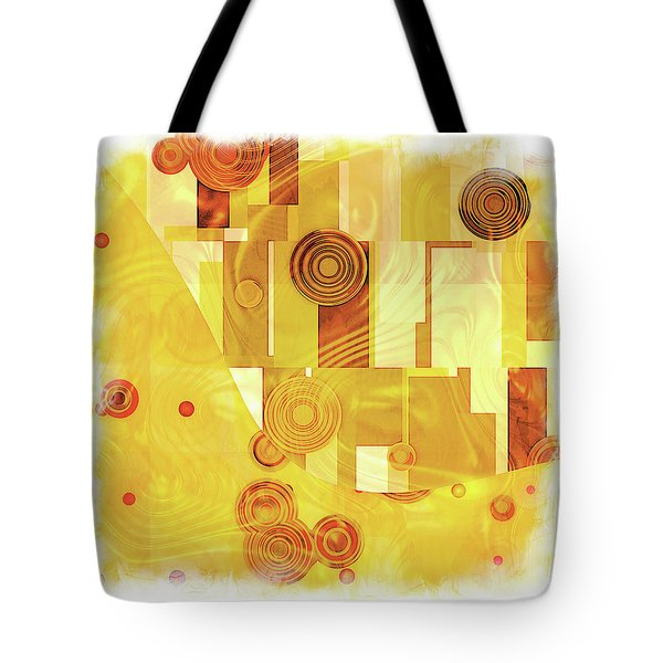 Art Deco Yellow Tote Bag