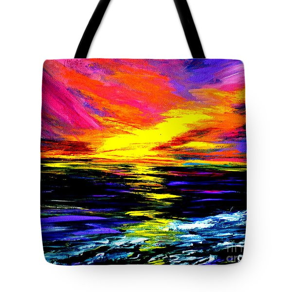 Art For Health And Life. Painting 8. Splendid Tote Bag
