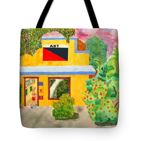 Art Gallery Tote Bag