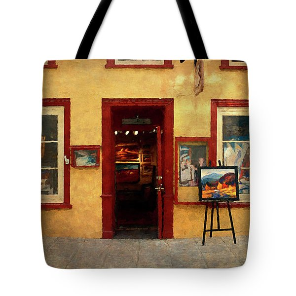 Art Gallery, Quebec City Tote Bag