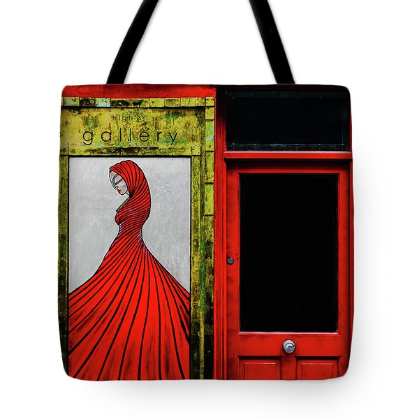 Art Gallery Shop Front Tote Bag