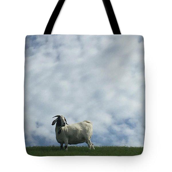 Art Goat Tote Bag