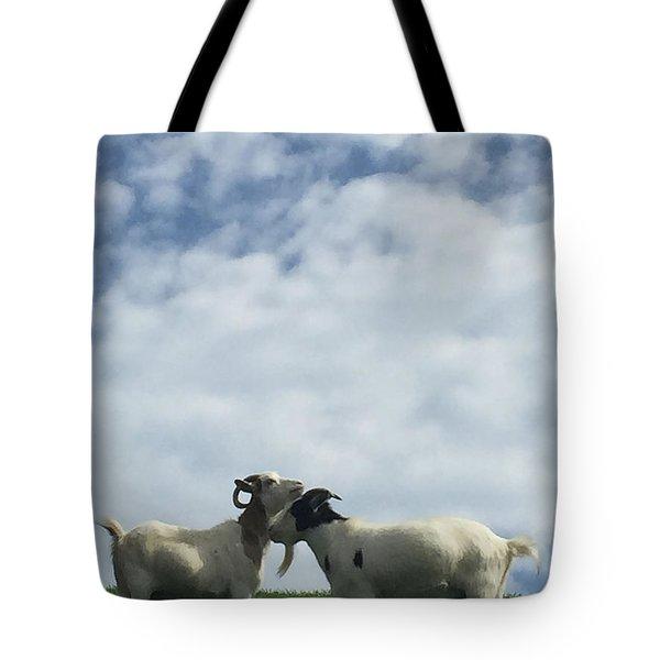 Art Goats II Tote Bag