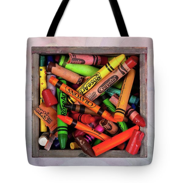 Tote Bag featuring the photograph Art In A Box by Tom Mc Nemar