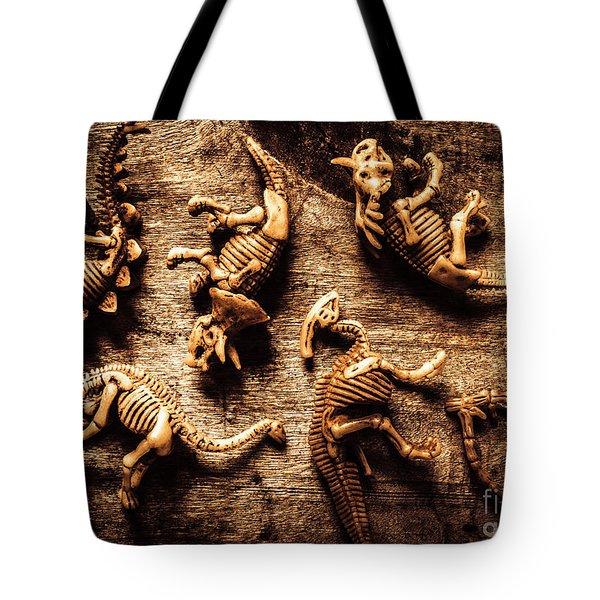 Art In Palaeontology Tote Bag
