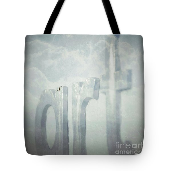 Art In The Clouds Tote Bag by Darla Wood