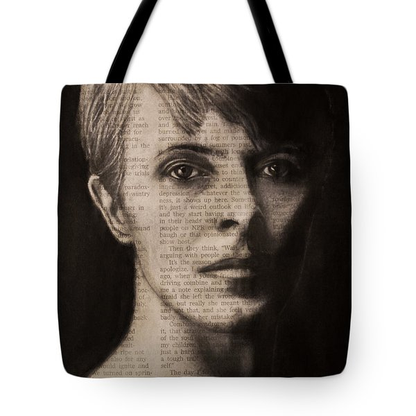 Art In The News 78-bowie Tote Bag