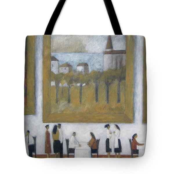 Tote Bag featuring the painting Art Is Long, Life Is Short by Glenn Quist