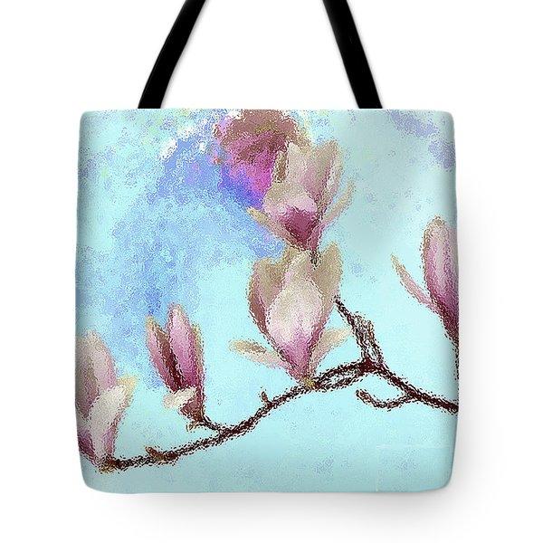 Art Magnolia Tote Bag