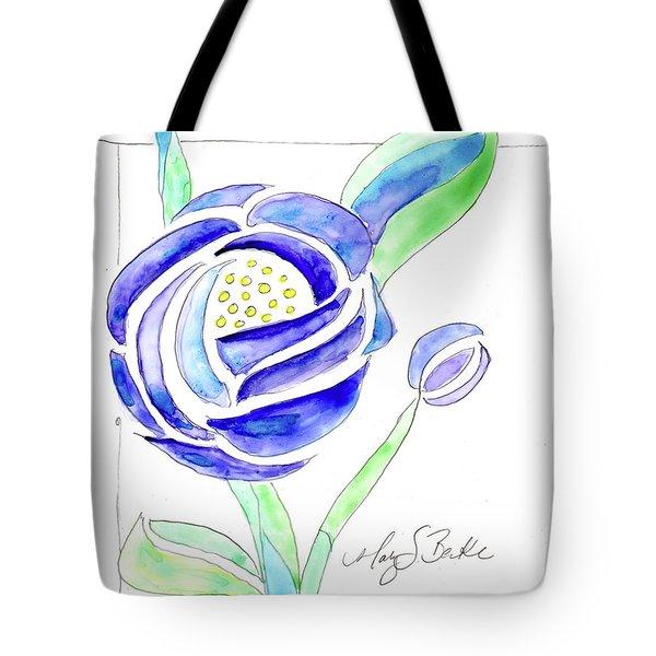 Art Nouveau Roses II Tote Bag