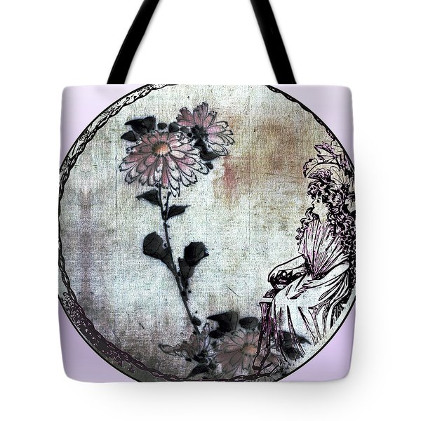 Art Nouveau Woman  Tote Bag