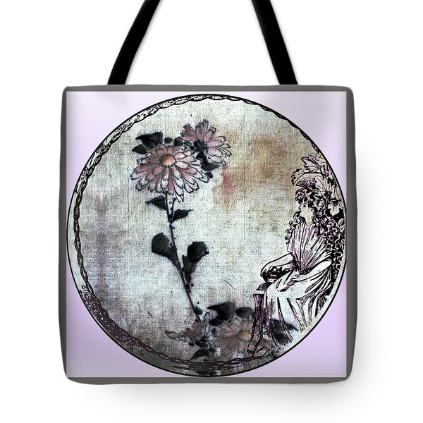 Art Nouveau Woman  Tote Bag by Robert G Kernodle