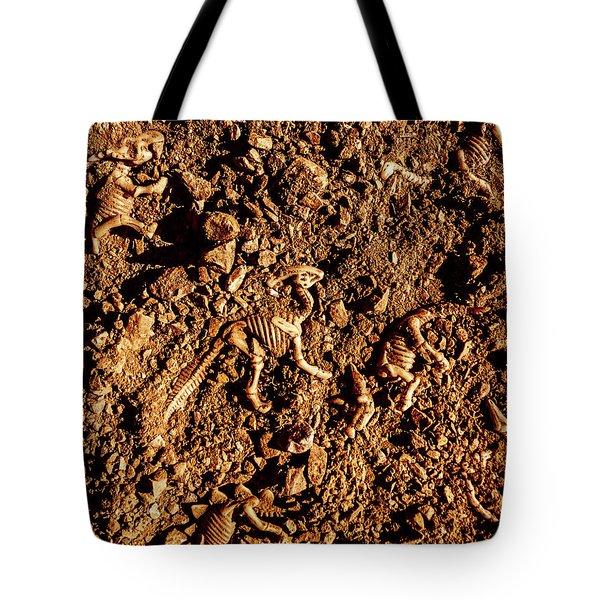 Art Of A Dinosaur Dig Tote Bag