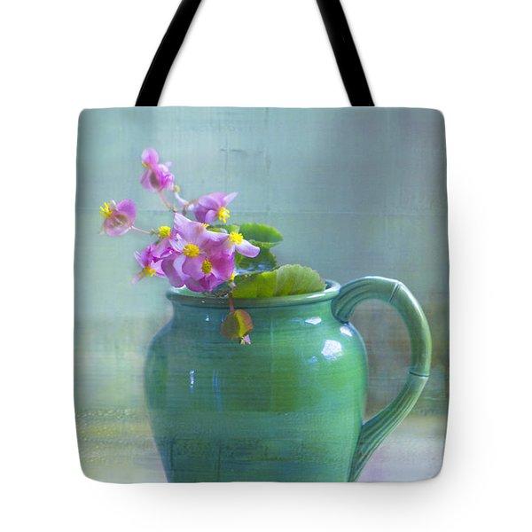 Art Of Begonia Tote Bag