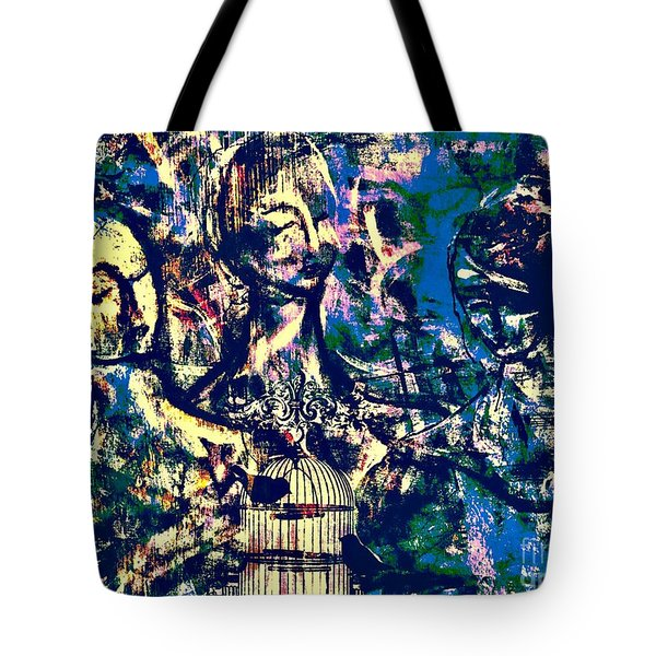 Art Of Connections Tote Bag