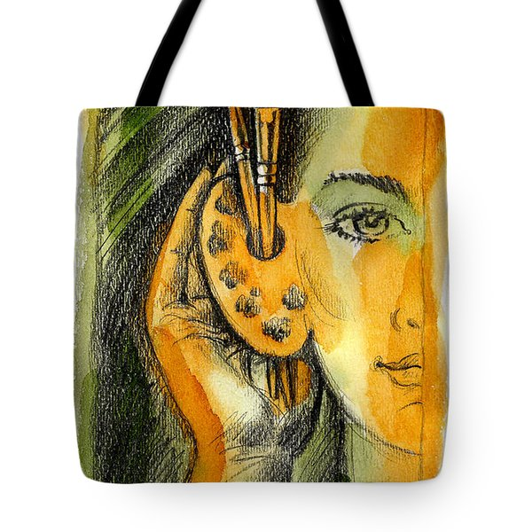 Art Of Listening Tote Bag