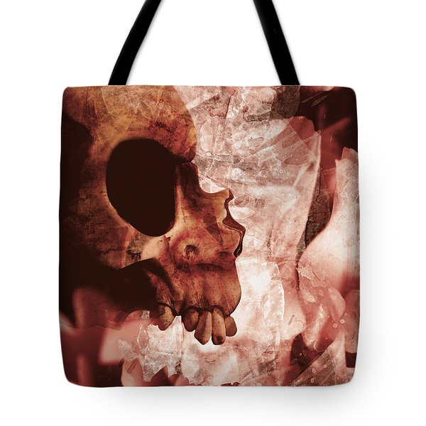 Art Of Love And Death Tote Bag