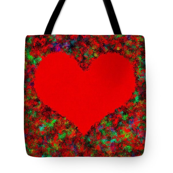 Art Of The Heart Tote Bag