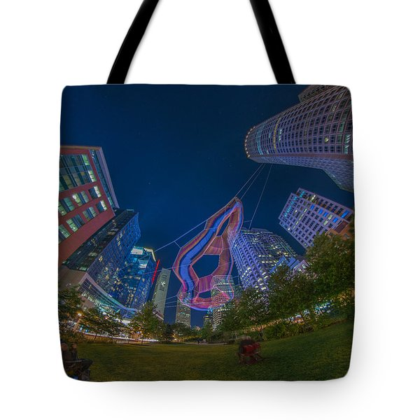Art On The Greenway 2 Tote Bag