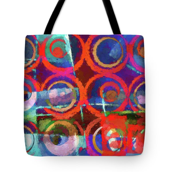 Art Poster Paint Tote Bag