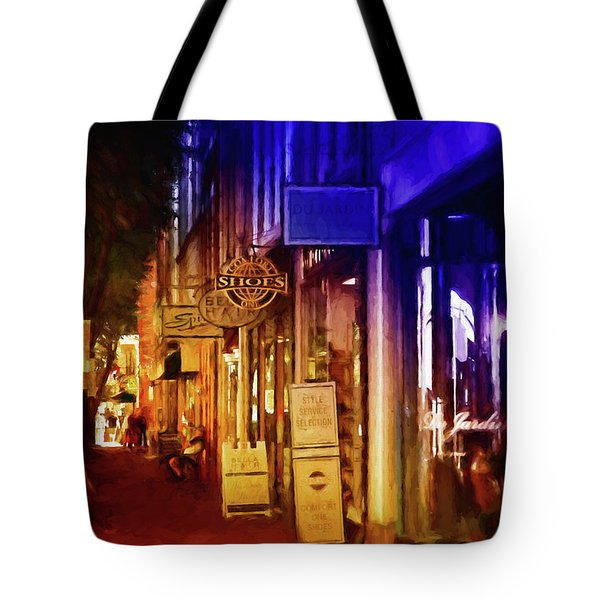 Art Row - Fredericksburg, Virginia Tote Bag