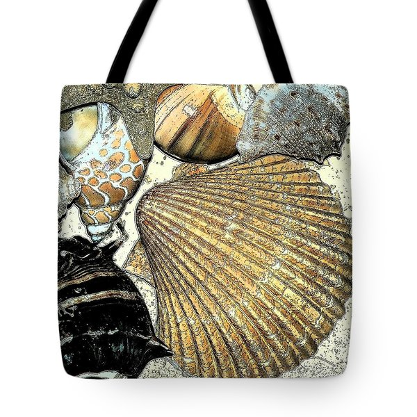 Art Shell 2 Tote Bag by Stephanie Troxell