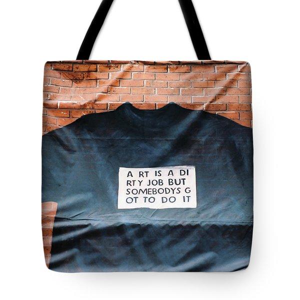Art Shirt Tote Bag